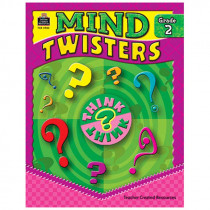 TCR3982 - Mind Twisters Gr 2 in Games & Activities