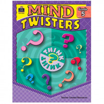 TCR3985 - Mind Twisters Gr 5 in Games
