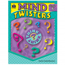 TCR3986 - Mind Twisters Gr 6 in Games