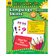 TCR3994 - Daily Warm Ups Language Skills Gr 4 in Activities