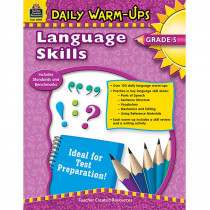 TCR3995 - Daily Warm Ups Language Skills Gr 5 in Activities