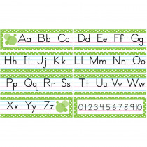 TCR4088 - Traditional Printing Mini Bulletin Board Set in Alphabet Lines