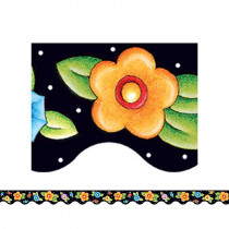 TCR4137 - Me Dots & Flowers Border Trim in Border/trimmer