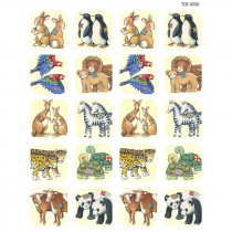 TCR4250 - Susan Winget Noahs Ark Stickers in Inspirational