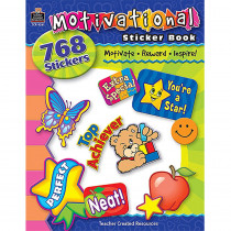 TCR4261 - Motivational Sticker Book in Stickers