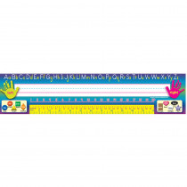 TCR4306 - Traditional Printing 36Pk Super Jumbo Name Plates 4 X 18 in Name Plates