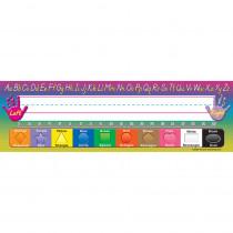 TCR4307 - Modern Printing 36Pk Flat Name Plates 3-1/2 X 11-1/2 in Name Plates