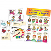 TCR4400 - Spanish Bulletin Board Set in Multilingual