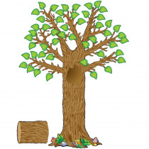 TCR4405 - Seasonal Tree Bulletin Board Set in Holiday/seasonal