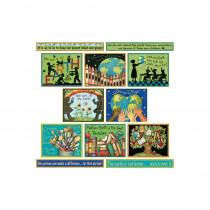TCR4503 - Susan Winget Green Earth Bulletin Board Set in Science