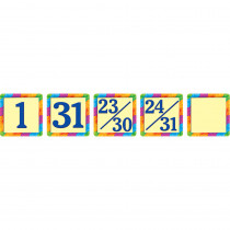 TCR4582 - Rainbow Calendar Day Mini Packs in Calendars