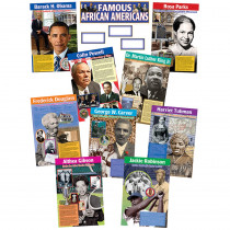 TCR4752 - Famous African Americans Bulletin Board Set in Social Studies