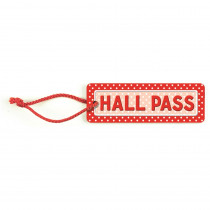 TCR4753 - Polka Dots Hall Pass in Hall Passes