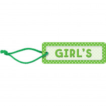 TCR4754 - Polka Dots Girls Pass in Hall Passes
