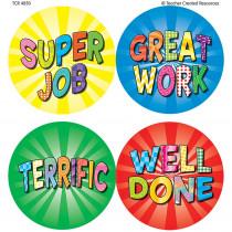 TCR4850 - Good Work 2 Wear Em Badges in Badges