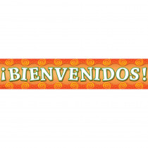 TCR4857 - Welcome Spanish Banner in Banners