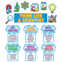 TCR4867 - Think Like A Scientist Mini Bulletin Board Set in Science