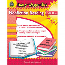 TCR5031 - Daily Warm Ups Gr 1 Nonfiction Reading in Reading Skills
