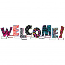 TCR5144 - Welcome Bulletin Board Set in Classroom Theme