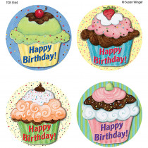 TCR5164 - Susan Winget Cupcakes Wear Em Badges in Badges