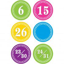 TCR5187 - Bright Circles Calendar Days in Calendars