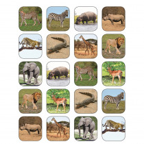 TCR5468 - Safari Animals Stickers in Stickers