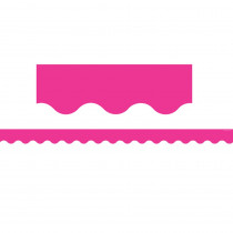 TCR5582 - Hot Pink Scalloped Border Trim in Border/trimmer