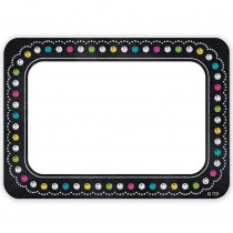 TCR5623 - Chalkboard Brights Name Tags in Name Tags
