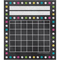 TCR5625 - Chalkboard Brights Mini Incentive Charts in Incentive Charts
