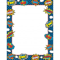 TCR5629 - Superhero Computer Paper in Design Paper/computer Paper
