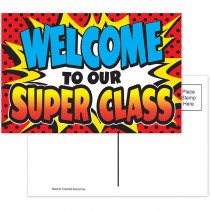 TCR5652 - Superhero Postcards in Postcards & Pads
