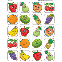 TCR5755 - Fruits Stickers 120 Stks in Stickers