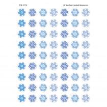 TCR5770 - Winter Mini Stickers 378 Stks in Holiday/seasonal