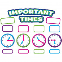 TCR5785 - Important Times Mini Bulletin Board Set in Miscellaneous