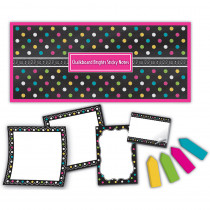 TCR5833 - Chalkboard Brights Sticky Notes in Post It & Self-stick Notes