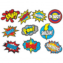 TCR5835 - Superhero Sayings Accents in Accents