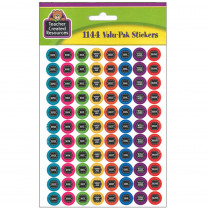TCR5841 - Chalkboard Brights Mini Stickers Valu Pak in Stickers