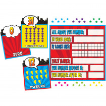 TCR5843 - Superhero Counting 0-31 Bulletin Board Set in Math