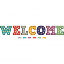 TCR5869 - Marquee Welcome Bulletin Board in Classroom Theme