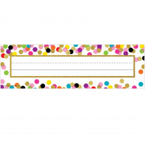 TCR5886 - Confetti Name Plates in Name Plates