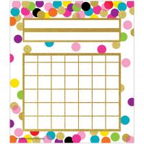 TCR5887 - Confetti Incentive Charts in Classroom Theme