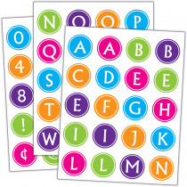 TCR5910 - Brights Alphabet Stickers in Stickers