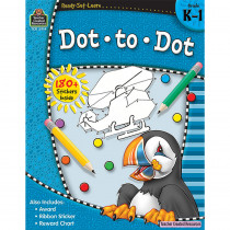 TCR5914 - Ready Set Learn Dot To Dot Gr K-1 in Skill Builders