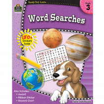 TCR5923 - Rsl Word Searches Gr 3 in Activities