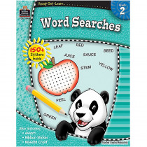 TCR5944 - Ready Set Learn Word Searches Gr 2 in Sight Words
