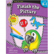 TCR5947 - Ready Set Learn Finish The Picture Gr K-1 in Language Arts