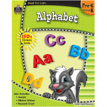 TCR5951 - Ready Set Learn Alphabet Gr Pk-K in Letter Recognition