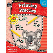 TCR5967 - Ready Set Learn Printing Practice Gr K-1 in Handwriting Skills