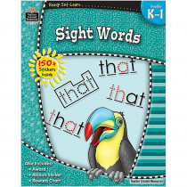 TCR5971 - Ready Set Learn Sight Words Gr K-1 in Sight Words