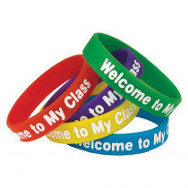 TCR6023 - Welcome To My Class Wristbands in Novelty